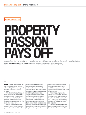 Caifu Property - Property Passion Pays Off