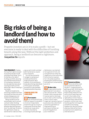 Expert Commentary - Choosing a Good Landlord