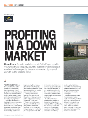 Expert Commentary - How to Profit in a Down Market